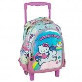 Backpack with wheels maternal Hello Kitty Unicorn 31 CM