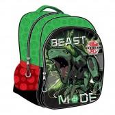 Backpack Bakugan 30 CM kindergarten