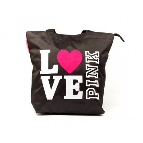 Sac shopping Love Pink 42 CM