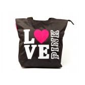 Sac shopping Love Pink 42 CM