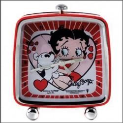 Réveil carré Betty Boop Coeur