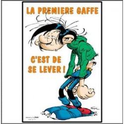 Miroir Gaston Lagaffe 30 CM