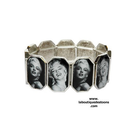 Bracelet icone Marilyn Monroe for ever