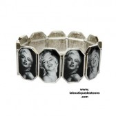 Bracelet icone Marilyn Monroe for ever