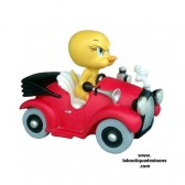 Statuette Tweety car