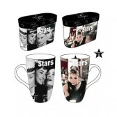 Set de 2 mugs Audrey Hepburn Star