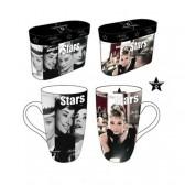 Set de 2 mugs Audrey Hepburn Star
