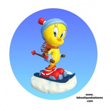 Figure Titi Skier