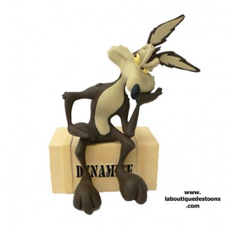 Statuette Vil Coyote Dynamite