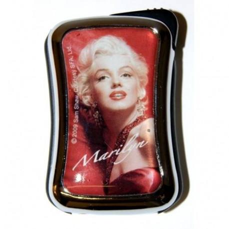 Briquet Marilyn Monroe métal rouge