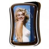 Briquet Marilyn Monroe métal bleu