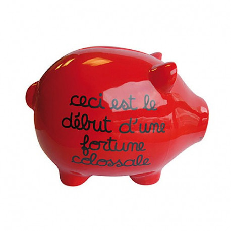 Piggy bank pig giant Fortune