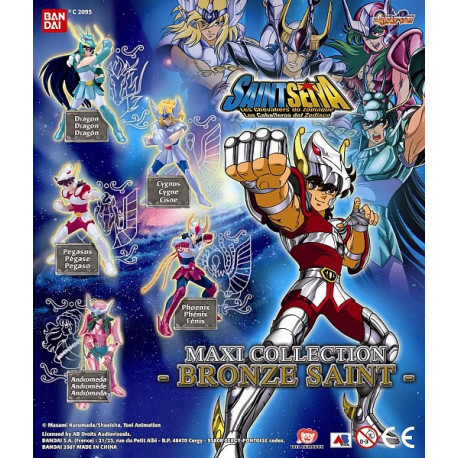 Collection of 5 figurines Saint Seiya Bronze - Knights of the Zodiac