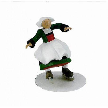 Figurine Bécassine Patineuse