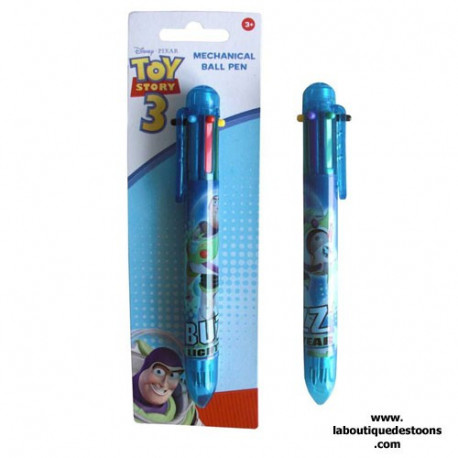 Stylo 6 couleurs Toy Story