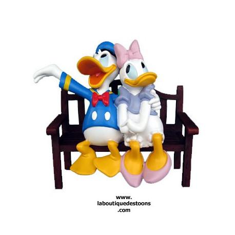 Statuette Donald & Daisy