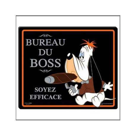 Tapis de souris Droopy Bureau du boss