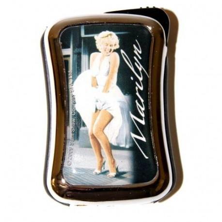 Briquet Marilyn Monroe métal blanc