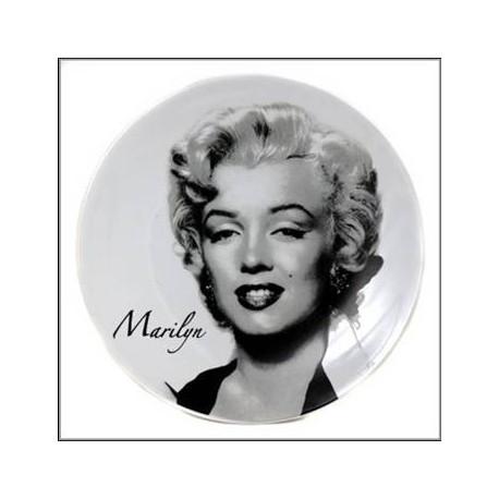 Assiette Marilyn Monroe Legend