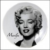 Assiette Marilyn Monroe Legend