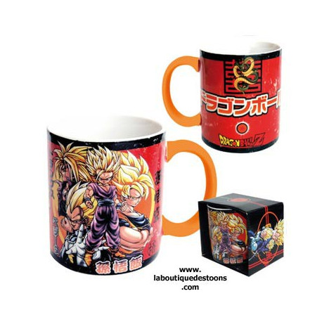 Mug Dragon Ball Z rouge