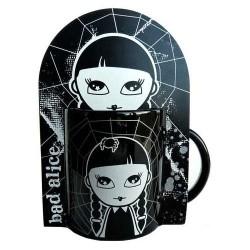 Mug Bad Alice Noir & Blanc