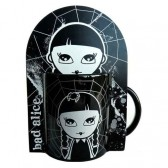 Mug Bad Alice Noir & Blanc