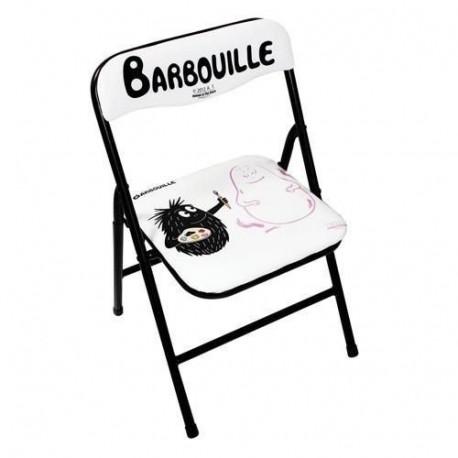 Silla de niño plegable pintura Barbouille