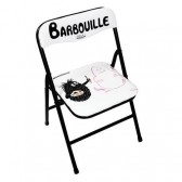 Child folding chair Barbouille painting