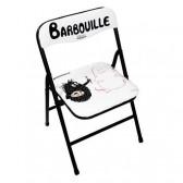 Kind, klappbar Stuhl Barbouille Malerei