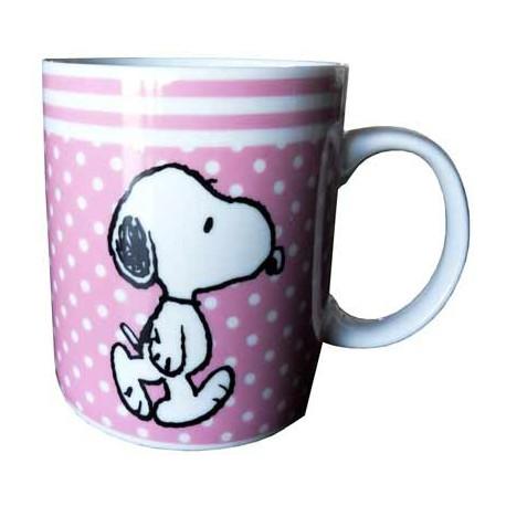 Mug Snoopy Rose