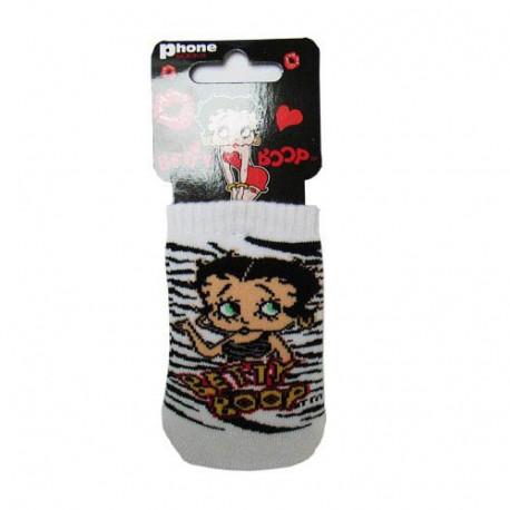 Sock cover Betty Boop zebra wool