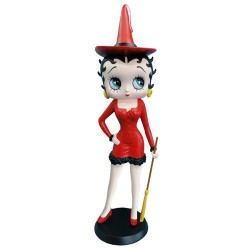 Statuette Betty Boop witch