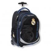 Sac à roulettes 45 CM Real Madrid Basic Haut de gamme - Cartable
