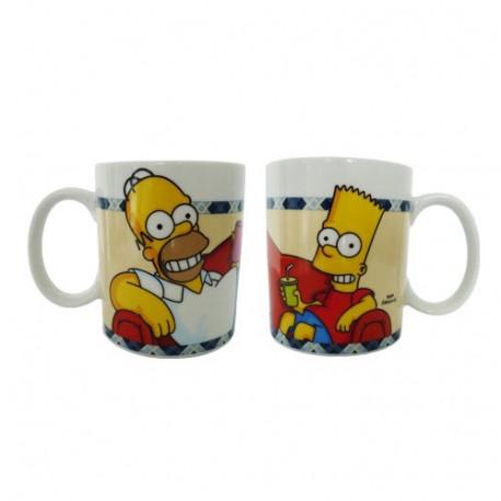 Mug Homer et Bart Simpson