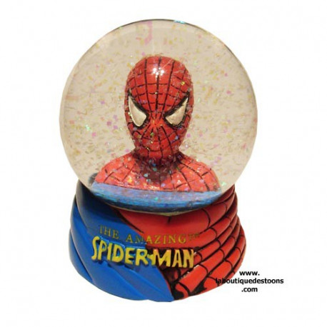 Boule a neige Spiderman Buste