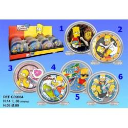 Sveglia Simpson PVC - numero di modello: Modello n ° 2