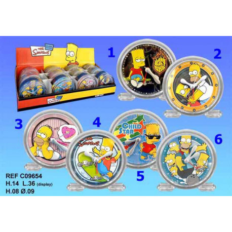 Alarm clock Simpsons PVC - Model number: model n 2