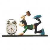 Figurine Gaston Lagaffe Réveil