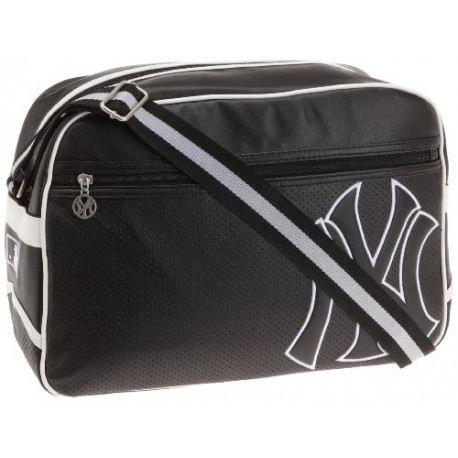 Sac bandoulière New York Yankees noir 38 CM Style Cuir