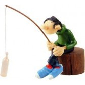 Figurine Gaston Lagaffe Pêcheur