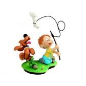 Figurine Boule et Bill à la pêche
