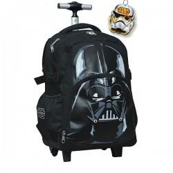 Star Wars zwart 43 CM hoog - schooltas trolley tas