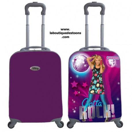 """Valise Hannah Montana - Modèle : modèle 16"""""""