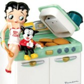 Cookie Jar Betty Boop 3D kitchen