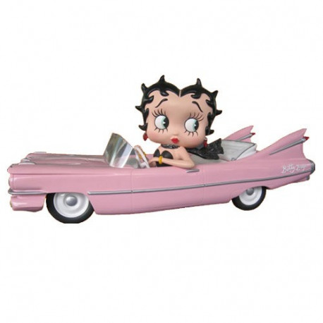Statuette Betty Boop Limousine