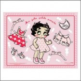 2 sets de table Betty Boop Baby