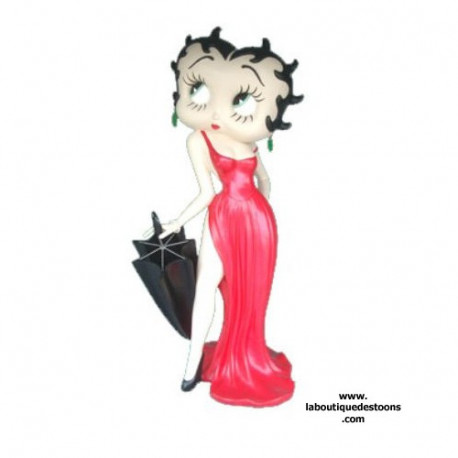 Statuette Betty Boop parapluie 160 CM