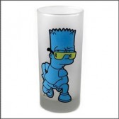 Verre sable Bart Simpson