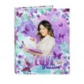 Classeur A4 Violetta Butterflies